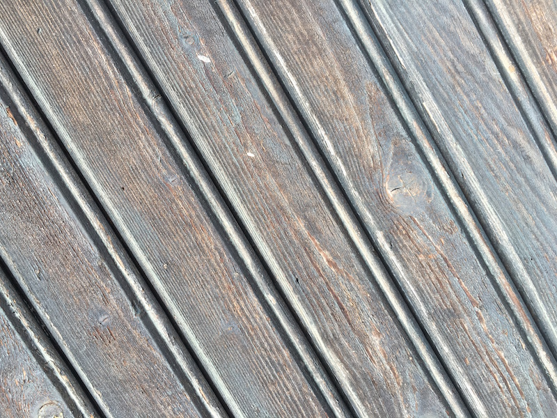smoothed wood planks with wood pattern